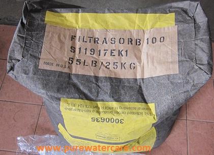 Kemasan Original Bagian Bawah Karbon Aktif Calgon Filtrasorb 100