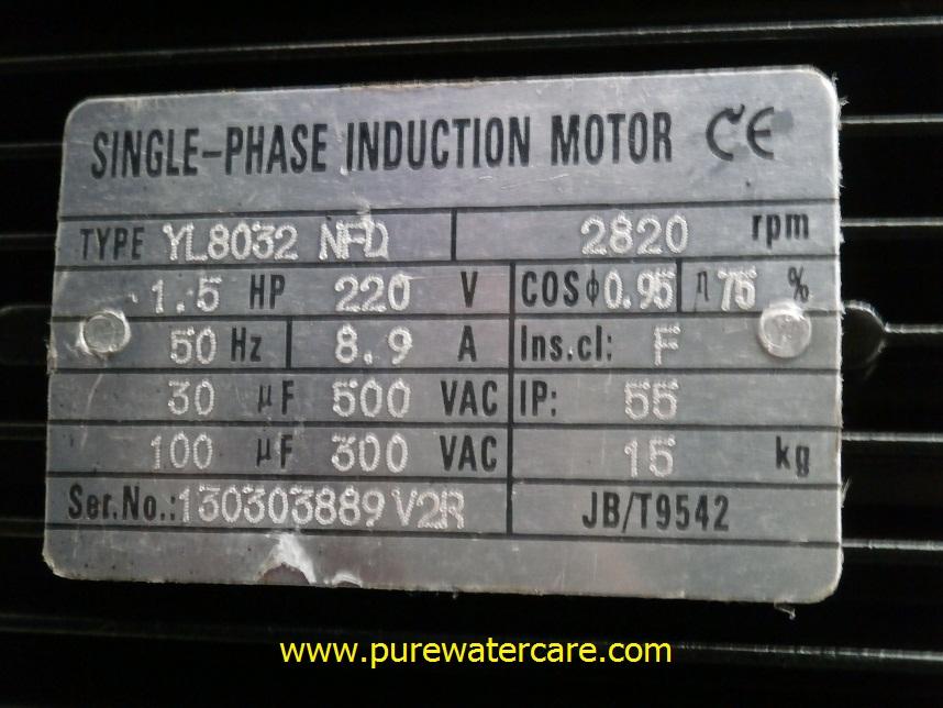 Pompa CNP Centrifugal Pump 15 HP CDLF2 11 Tampak Name