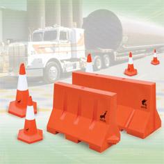 Dengan bahan dan fitur yang mendukung, Excel® Traffic Control menjadi produk yang tepat untuk mengatur arus lalu lintas/pembatas jalan