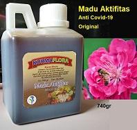 Discount Rp.75.000 pembelian 3 pcs madu hitam pahit kurma flora dan gratis ongkir seluruh Jawa