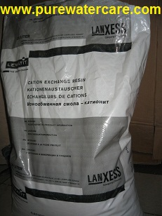 Kemasan Original Resin Kation Lewatit Monoplus S108 1 Sak = 25 Liter
