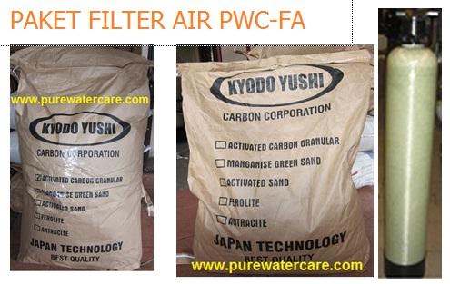 Pengiriman Paket Filter Air PWC-FA Ke Seluruh Indonesia