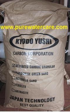 Kemasan Karbon Aktif 1 Sak 20 Kg